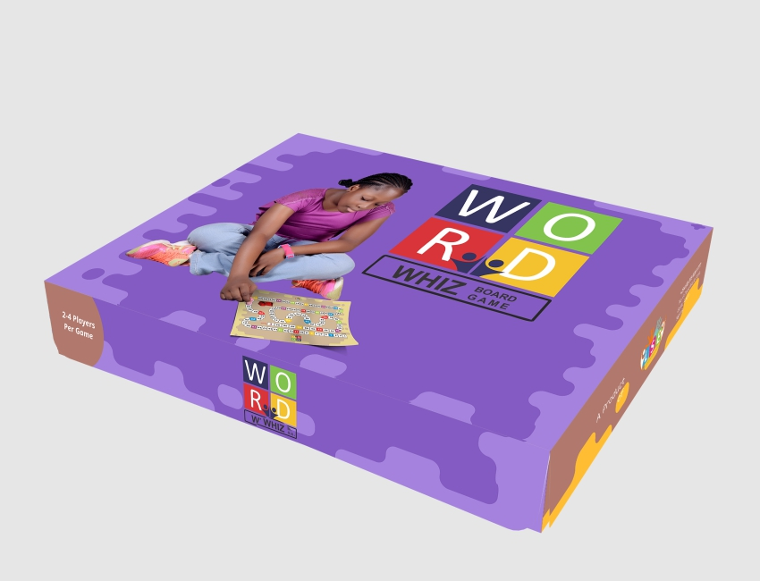 Word Whiz Board Game